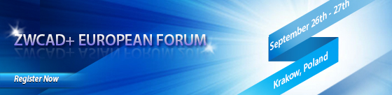 ZWCAD European Forum – CRACOVIA 2014